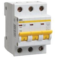 Автоматический выключатель  ВА47-29М 3P 2A 4,5кА х-ка B IEK