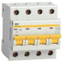 Автоматический выключатель  ВА47-29М 4P 1A 4,5кА х-ка B IEK