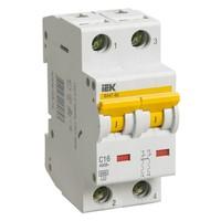 Автоматический выключатель ВА 47-60 2Р 1А 6 кА  х-ка D IEK